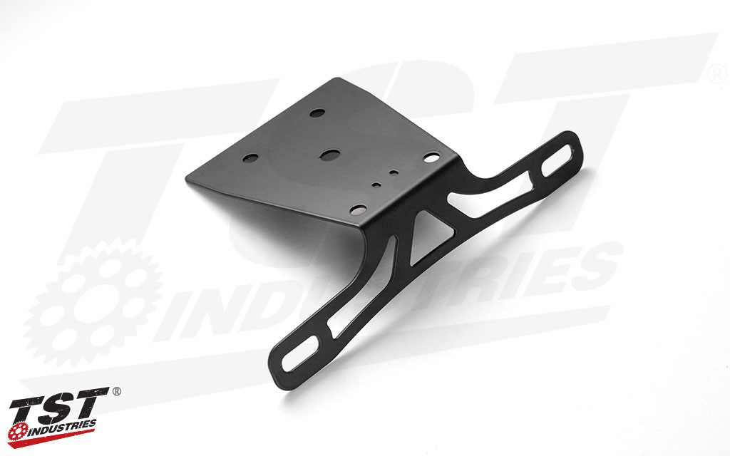 Powder coated black to blend in with the rest of your Honda CB650F / CBR650F undertail.