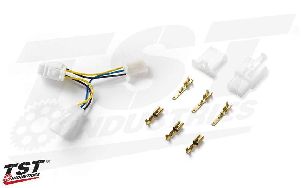 Included wiring kit helps to make your installation as easy as possible.