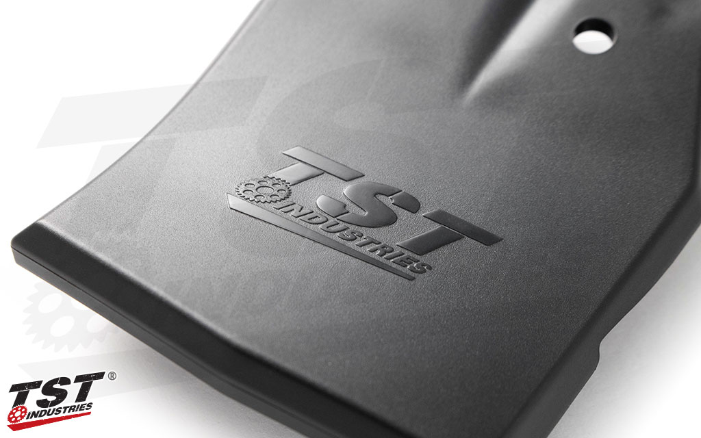 Keep water, dirt, and debris out of your Z900 tail section with the TST Undertail Closeout.