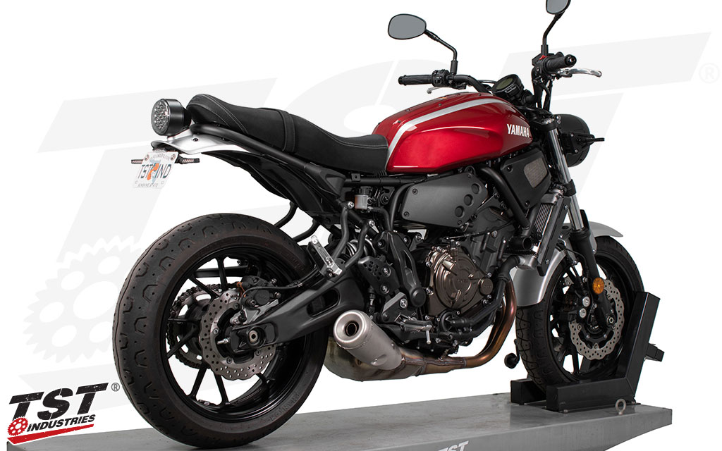 Improve the looks of your 2016+ Yamaha XSR700 by removing the large stock fender.