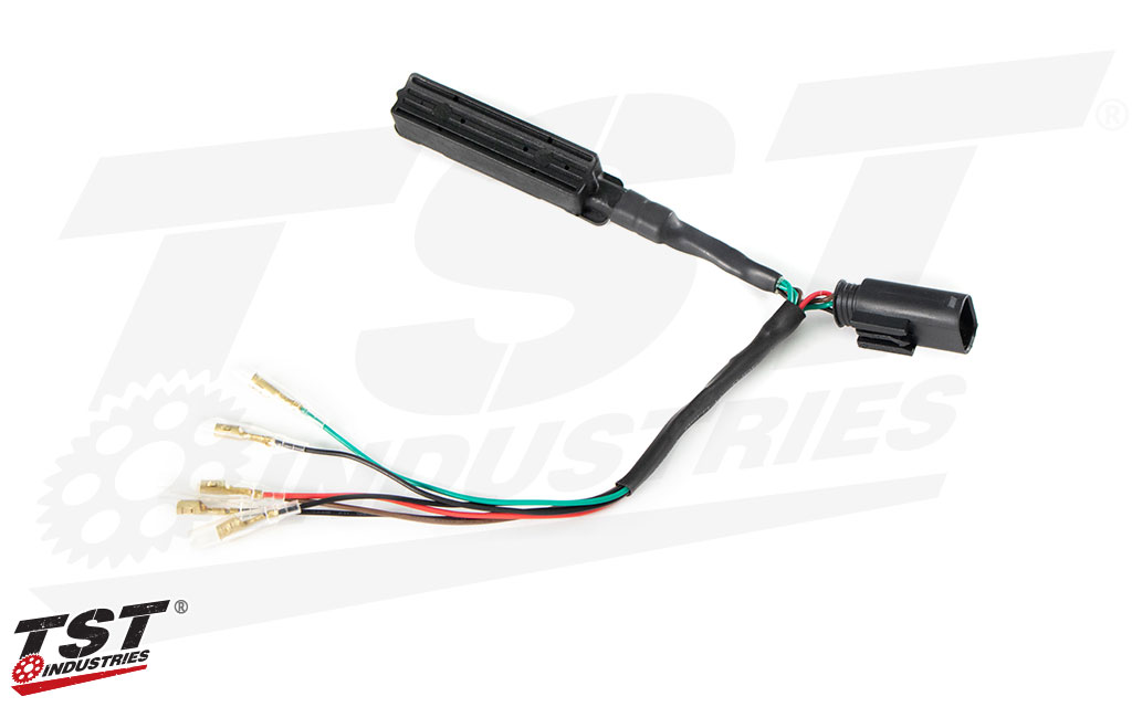 TST Universal Rear Lighting Harness and Flash Rate Controller for BMW S1000RR / S1000R