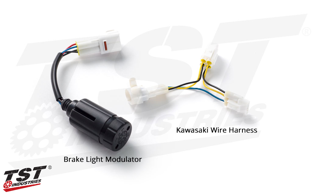 TST Brake Light Modulator for Kawasaki OEM Tail Lights