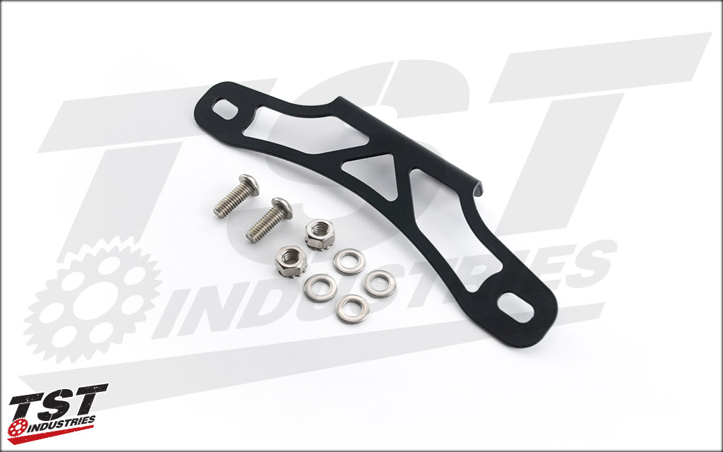 What's included in the TST Industries Fender Eliminator for the Kawasaki Ninja 650R.