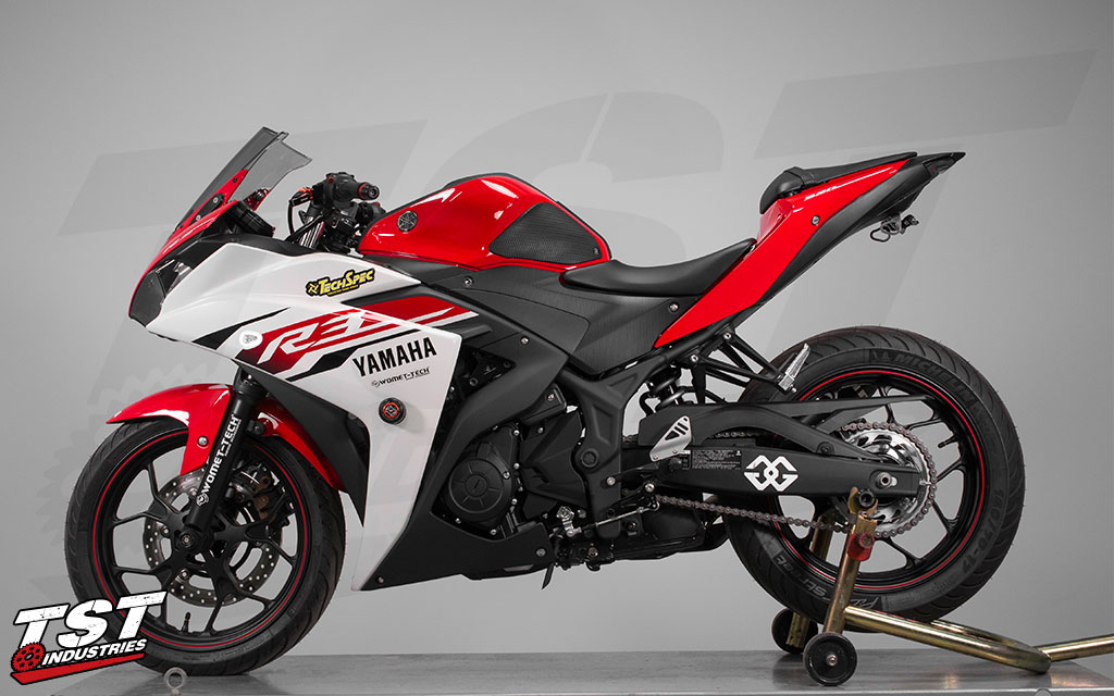 Transform your 2015+ Yamaha R3.