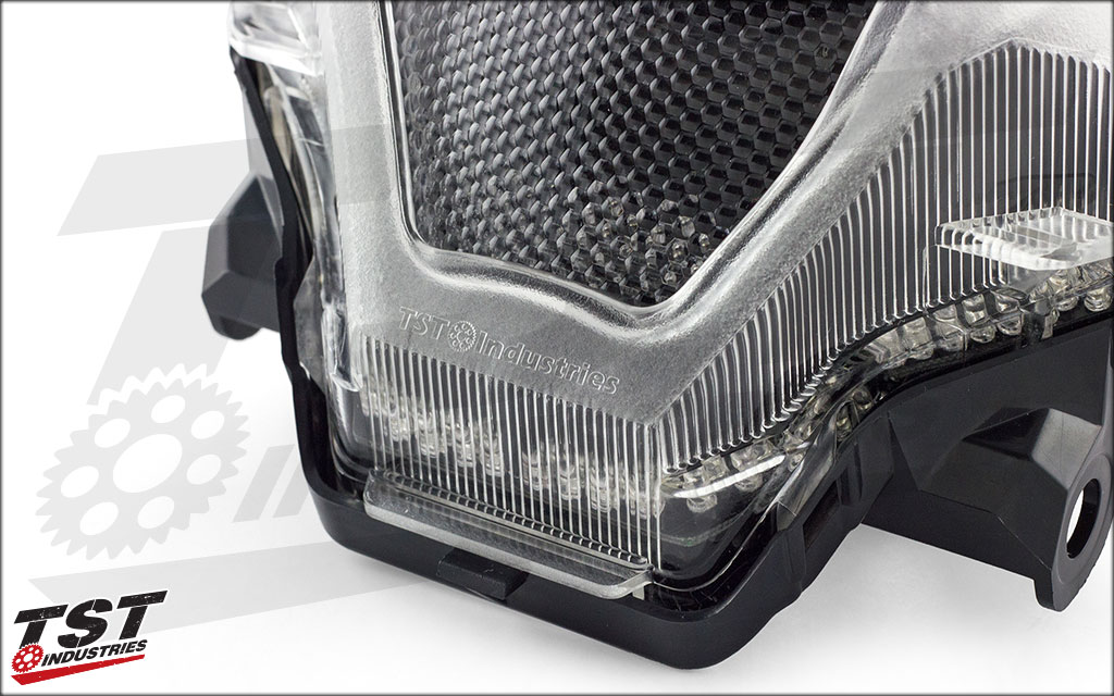 This unique taillight is developed and sold by the brand you trust - TST Industries.
