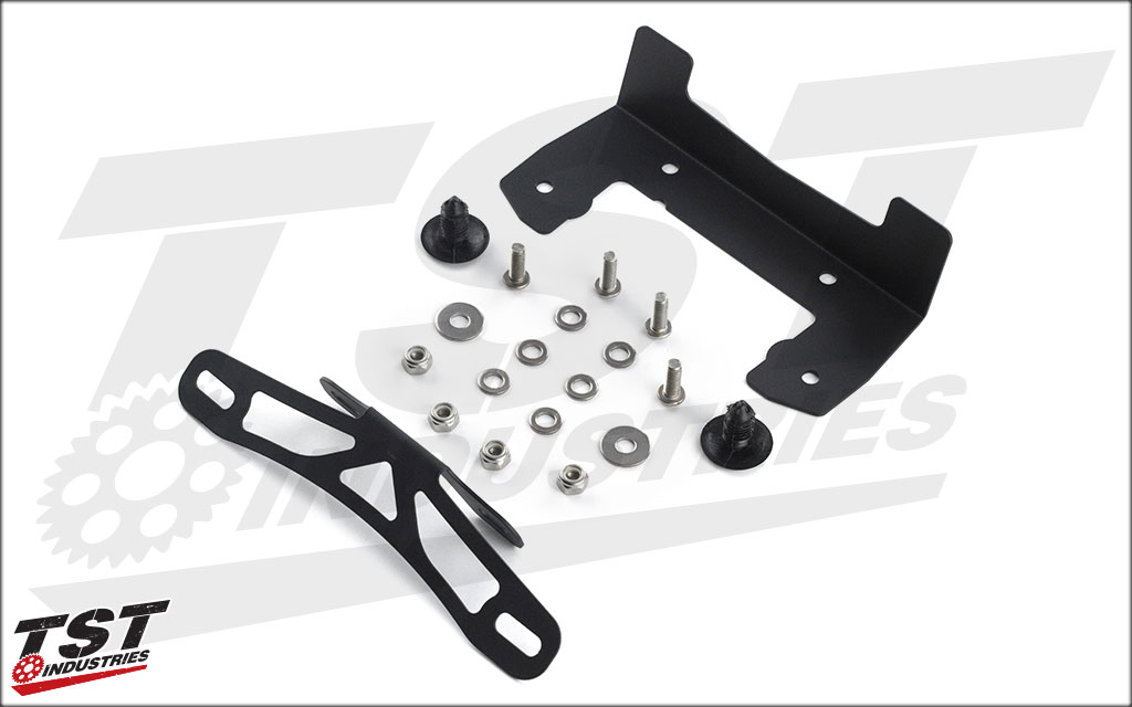 What's included in the Stock Location Mounting Bracket Kit.