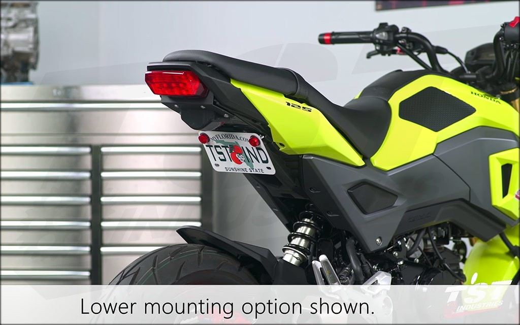 Laser Cut Fender Eliminator | Honda Grom 2017+