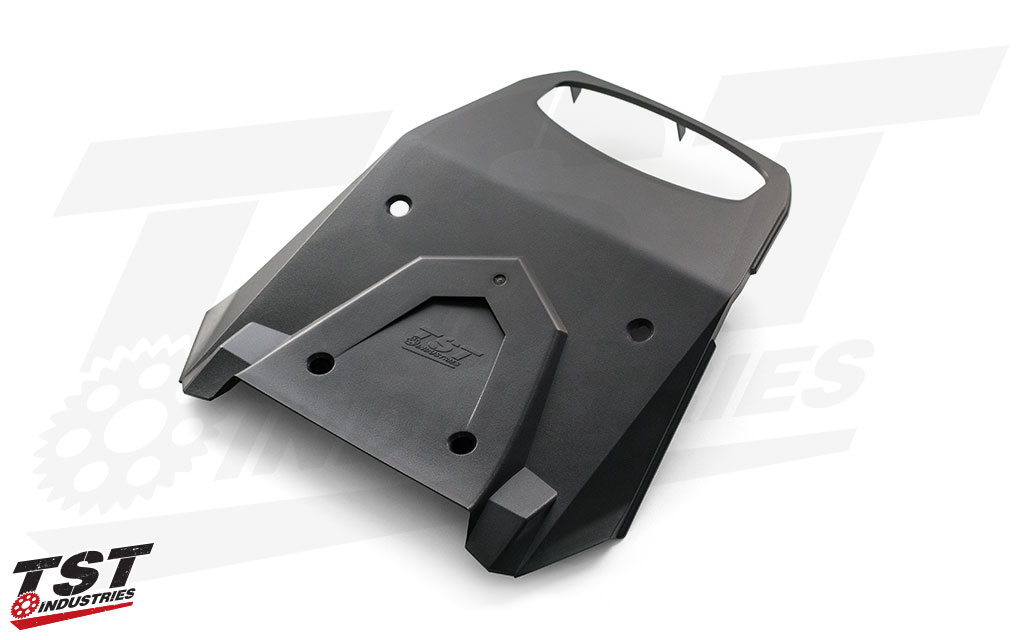 TST Grom undertail panel is constructed from virgin ABS plastic and is color and texture matched to the rest of the OEM components.