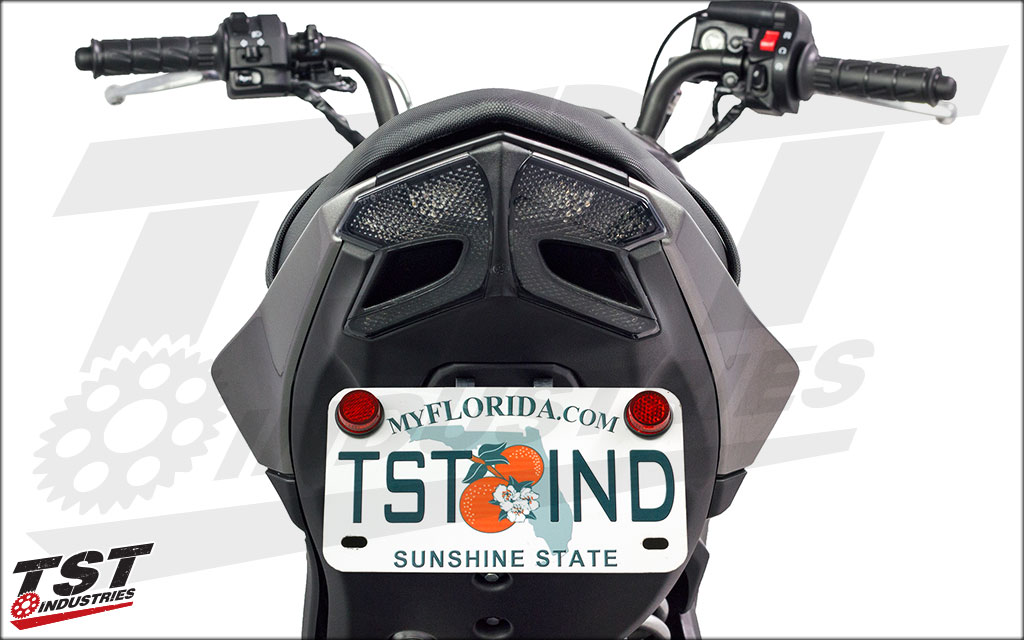 Combine this Elite-1 setup with our integrated taillight for a complete tail transformation.