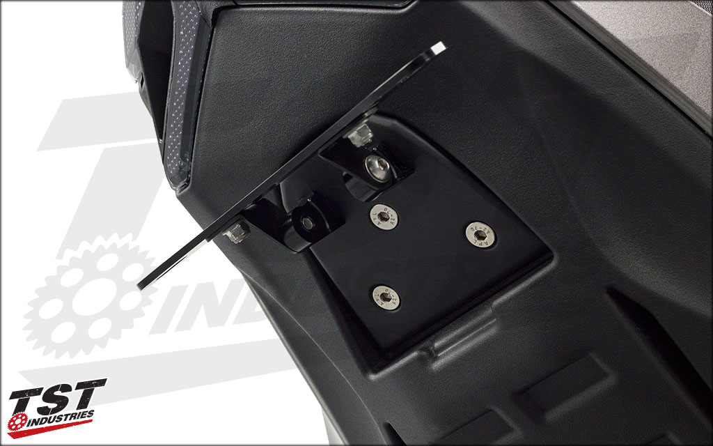 Elite-1 system includes our undertail closeout. A prototype unit is shown here.