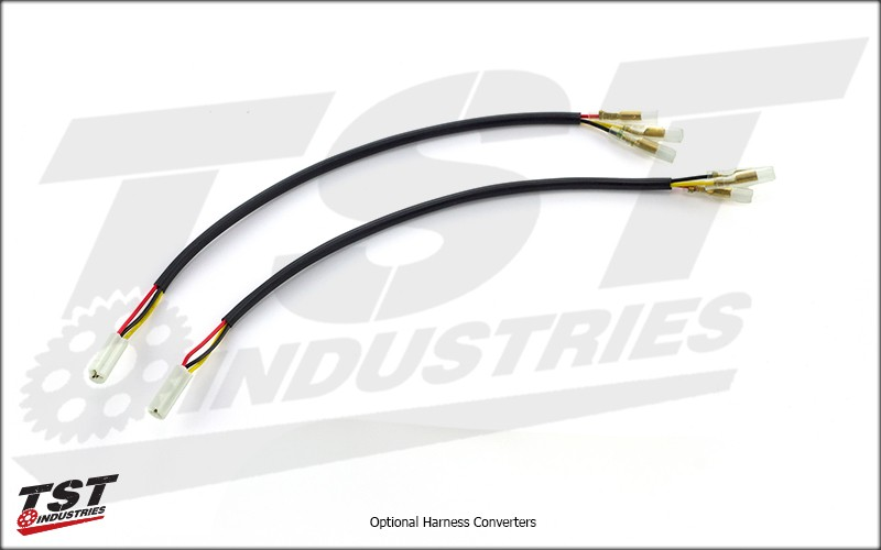 Optional Harness Converters provide a plug-and-play installation.