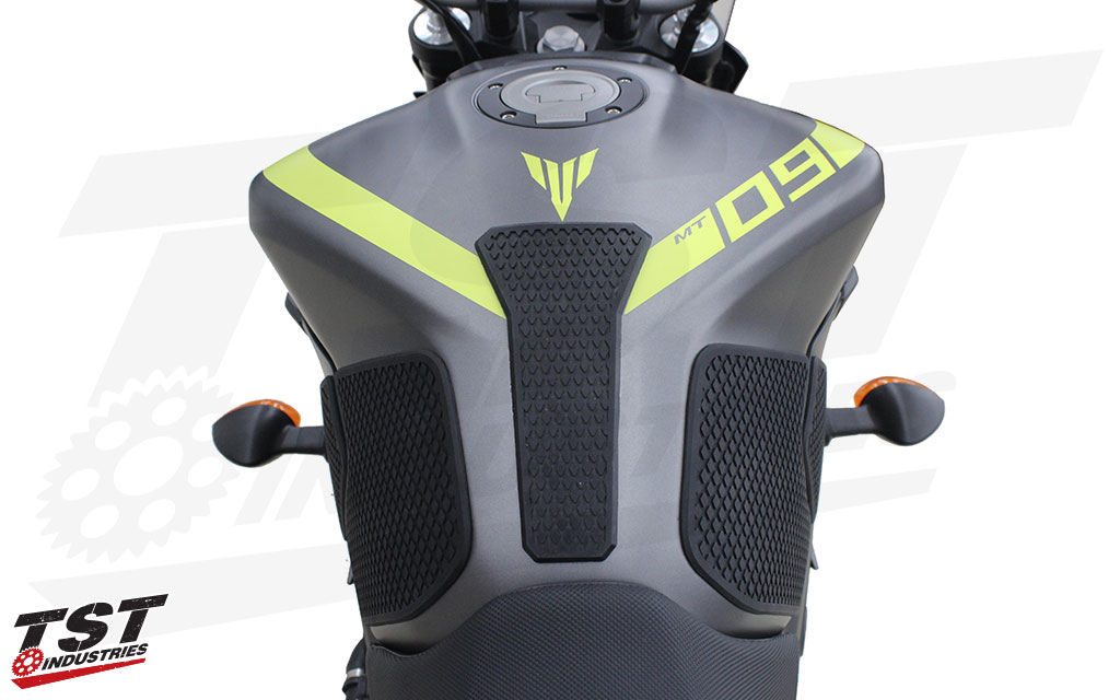 Techspec Gripster Tank Grips For Yamaha Fz 09 Mt 09 2014
