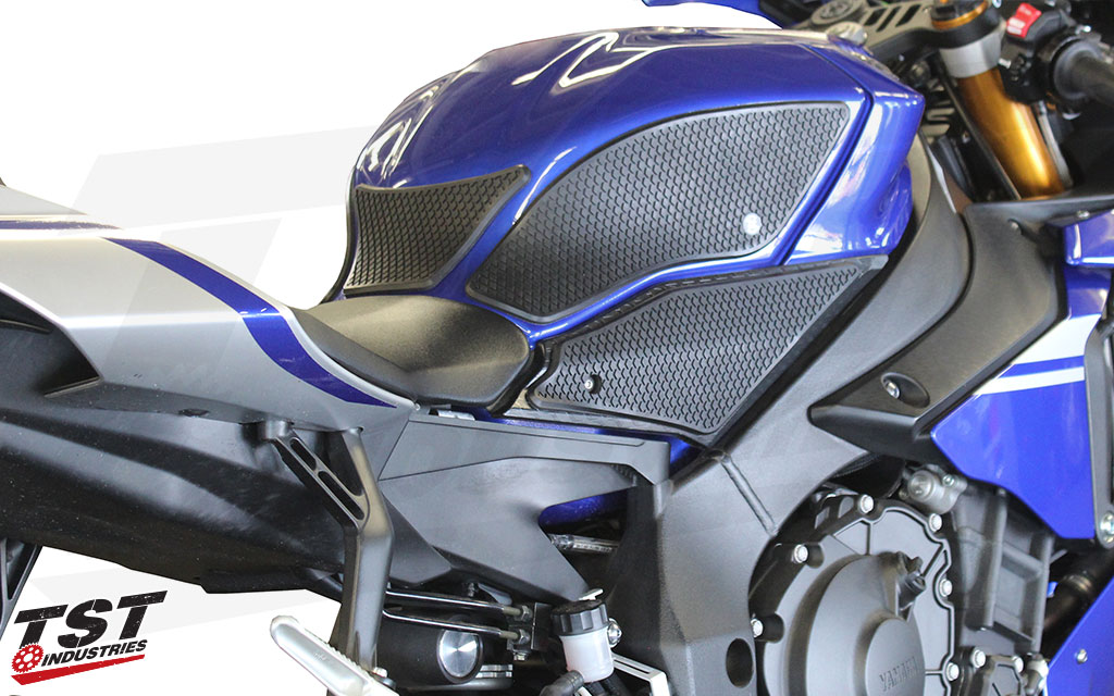 Gain more grip and control on your Yamaha R1 during cornering and hard braking zones.