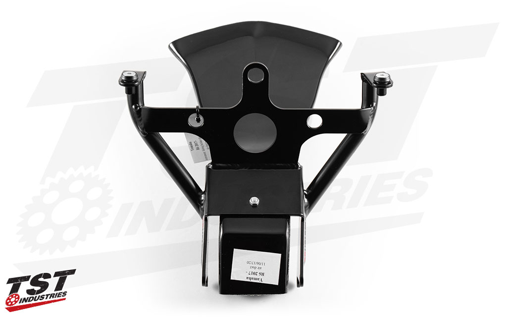 Decrease weight by 33% compared to the OEM Yamaha bracket.