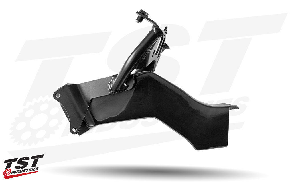 Reduce Yamaha R1 component weight with the lightweight and durable DBHolders Upper Fairing Stay Bracket.