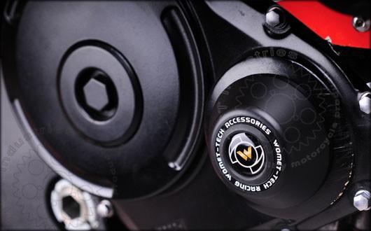 TST Industries Womet Tech Suzuki GSXR 600 750 Engine Cover Crash Protector