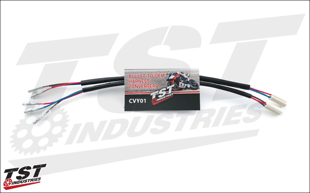 CVY01_Yamaha Wire Harness Converter_Detailed Images tst industries yamaha harness converter Fz07 2016 Black at creativeand.co