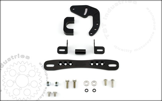 Ducati 848/1098/1198 TST Industries Fender Eliminator Bracket Kit