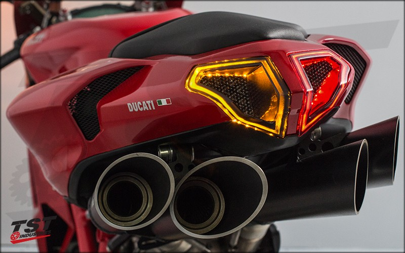 Get the sexiest LED Integrated Tail Light for your Ducati.