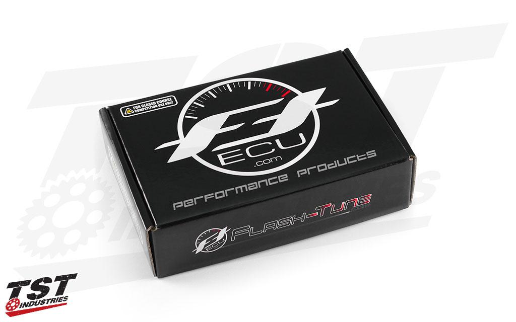 2017+ Yamaha R6 FTECU Data-Link ECU Flashing Kit packaging.