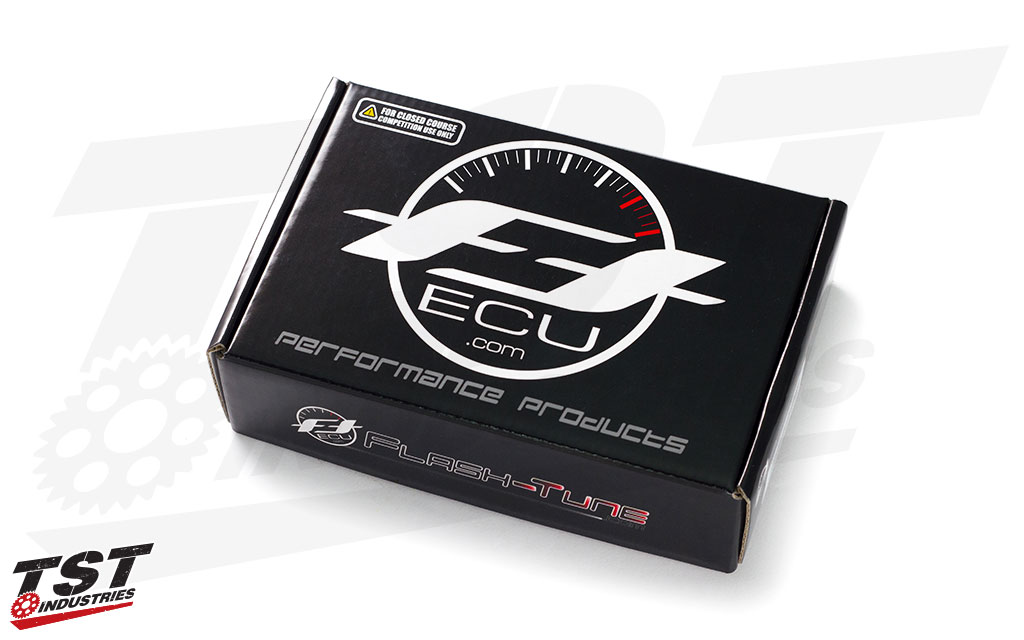 FTECU ActiveTune Self-Tuning ECU kit for Yamaha Motorcycles packaging.