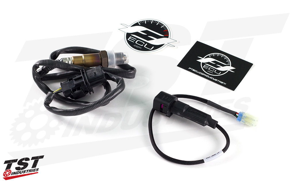 What's included in the FTECU ActiveTune AFR Closed-Loop Self-Tuning ECU Kit.