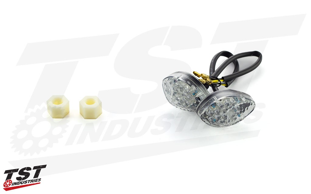 TST LED Clear Flushmount Signals.