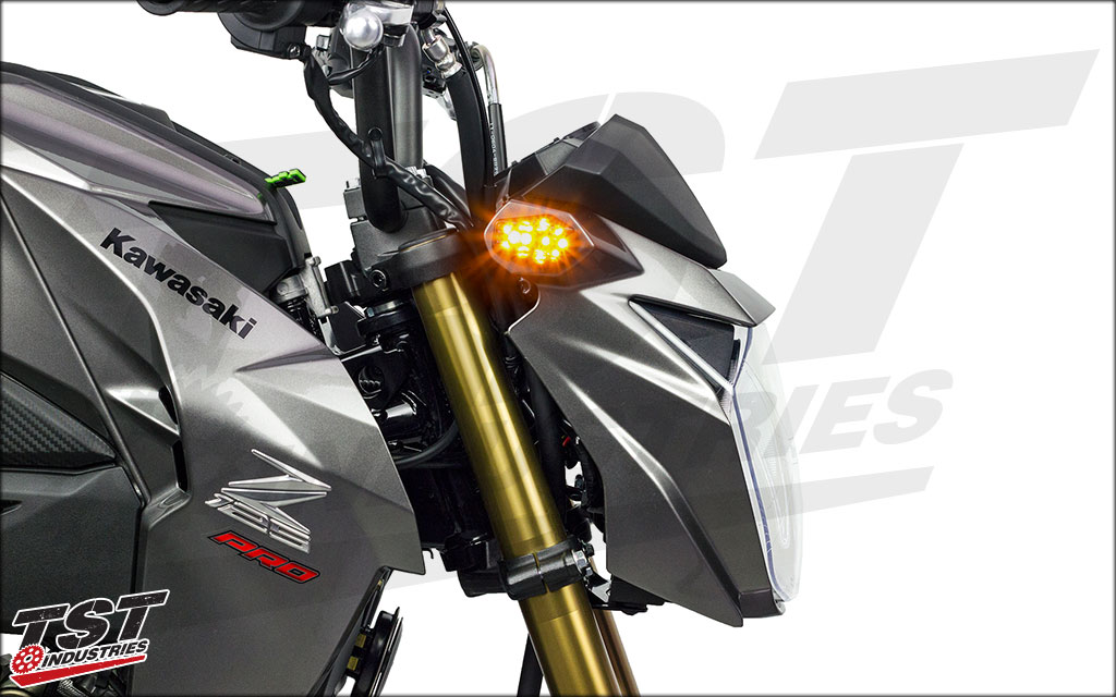Our LED signal is bright, meaning high visibility of your indicator.