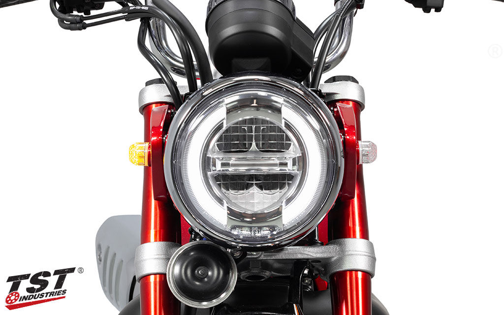 Ditch your stock Monkey signals for a low-profile turn signal solution.