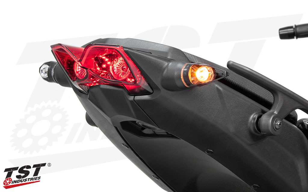 Make the rear of your 2018+ Yamaha Niken as unique as the front with TST Industries.