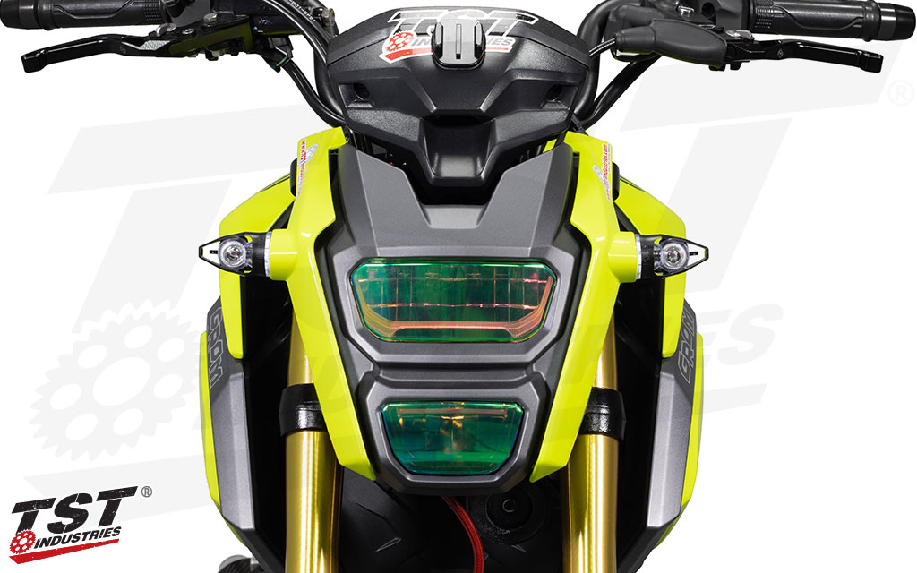 Hyper White glow color shown on the 2017+ Honda Grom.