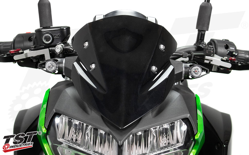 Give your Kawasaki Z turn signals that match the aggressive and naked sportbike styling.
