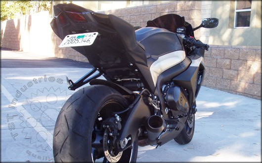 Clean up the tail section of your Suzuki GSXR 1000.