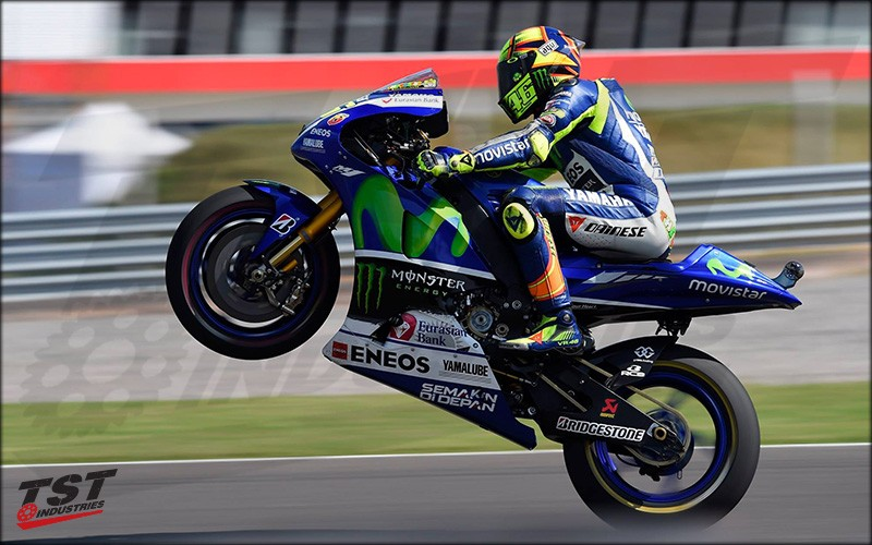 Gilles Tooling is the official 2017 rearset sponsor for the championship winning Movistar Yamaha MotoGP M1 Team.