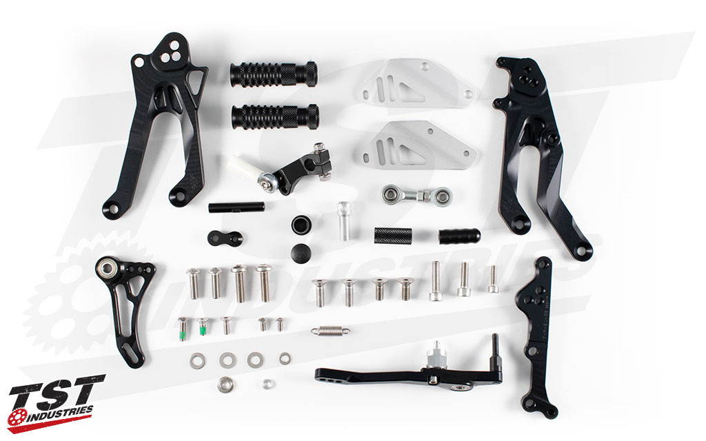 Gilles Tooling Factor-X Rearsets for the Yamaha YZF-R3