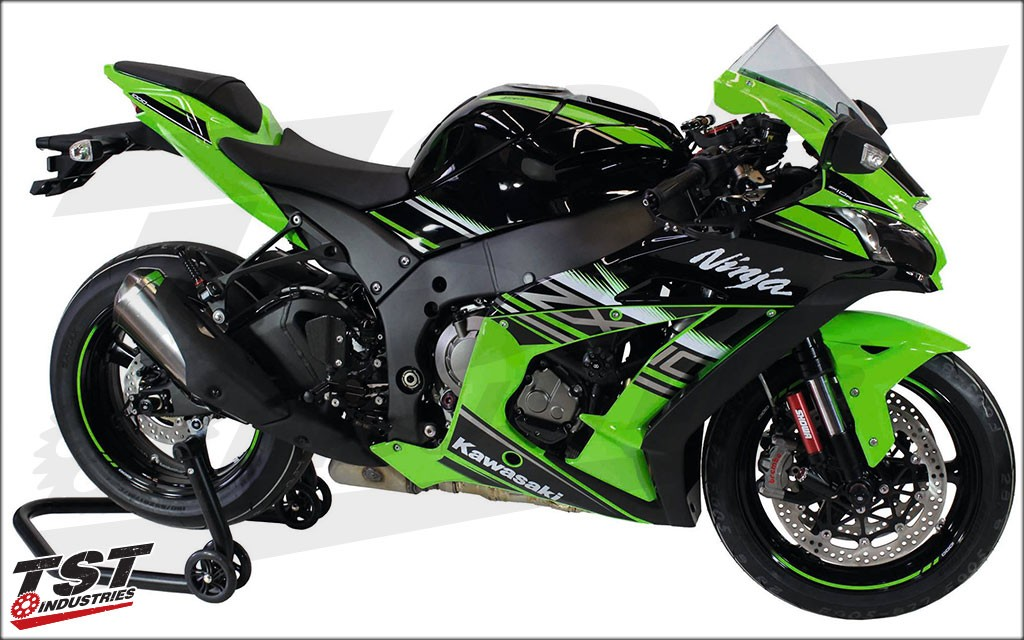 Gilles Tooling VCR38GT On The 2016 Kawasaki Ninja ZX 10R
