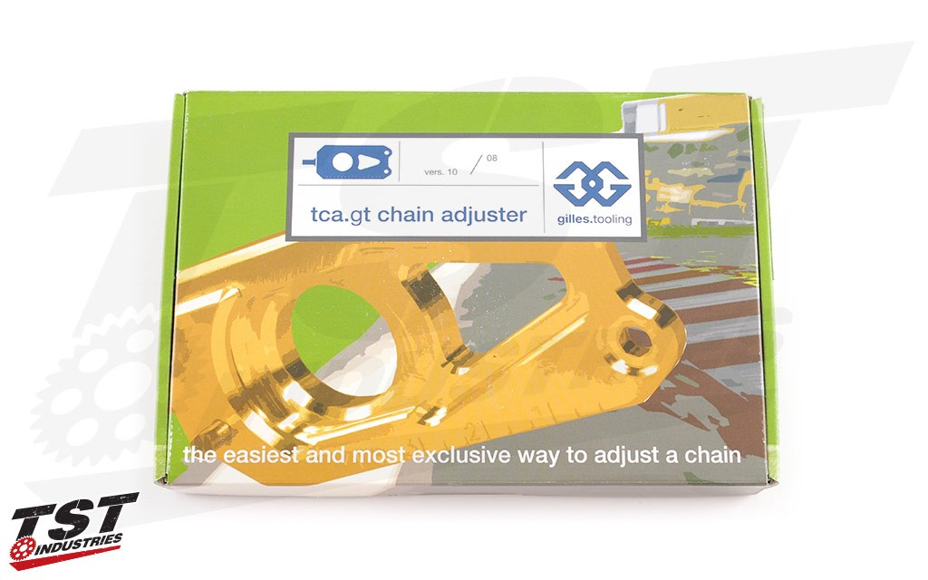 Gilles Tooling TCA Chain Adjuster packaging.
