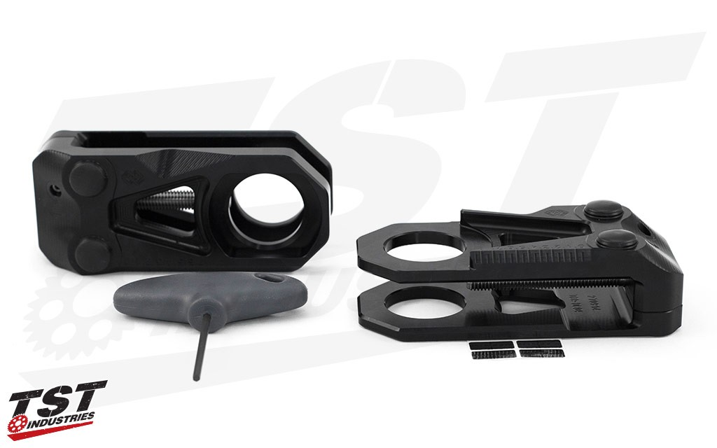 Gilles Tooling developed a unique designed TCA Chain Adjuster with advanced functionality.