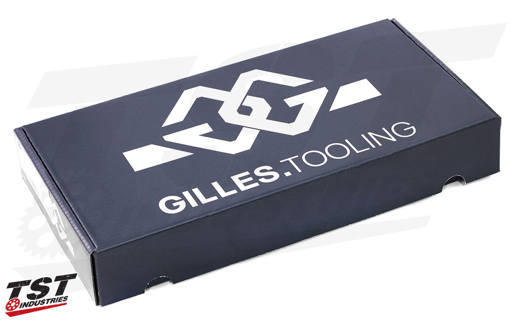 Gilles Tooling 50mm GP-LIGHT 2 500 Clip-Ons in packaging.