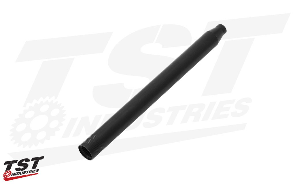 The Gilles Tooling GP-Light 2 bar replacement is a light-weight CNC machined aluminum with black anodized finish.