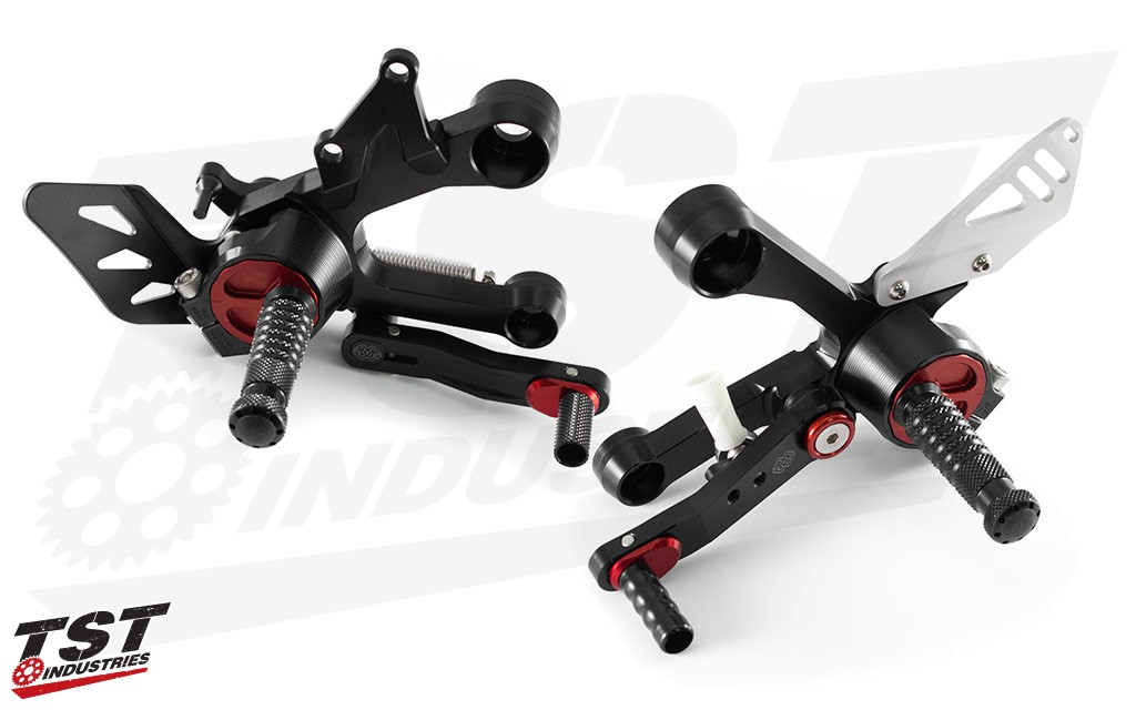 Gilles Tooling RCT10GT Rearsets for the 2014+ Yamaha FZ-09 / MT-09 or 2016+ XSR900.