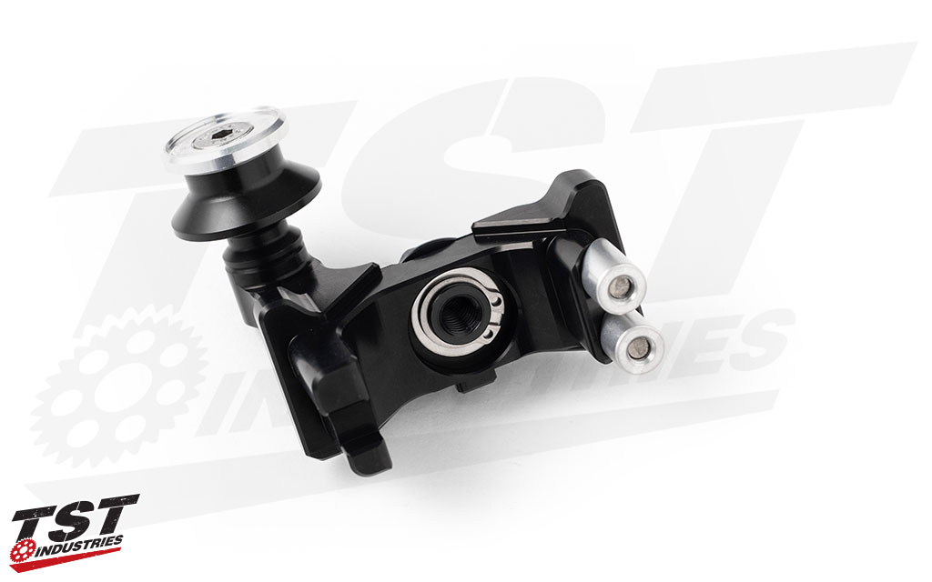 Perform precise chain adjustments and easily lift your Yamaha on a swingarm stand with the AXB Chain Adjusters.