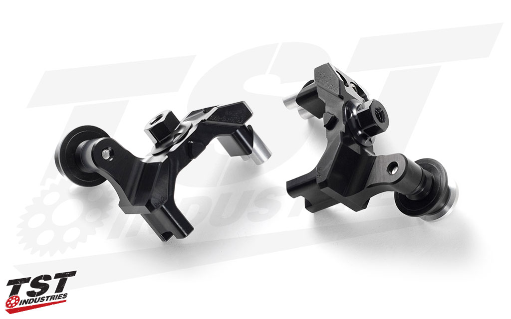 Manufactured from CNC machined aircraft-grade aluminum.