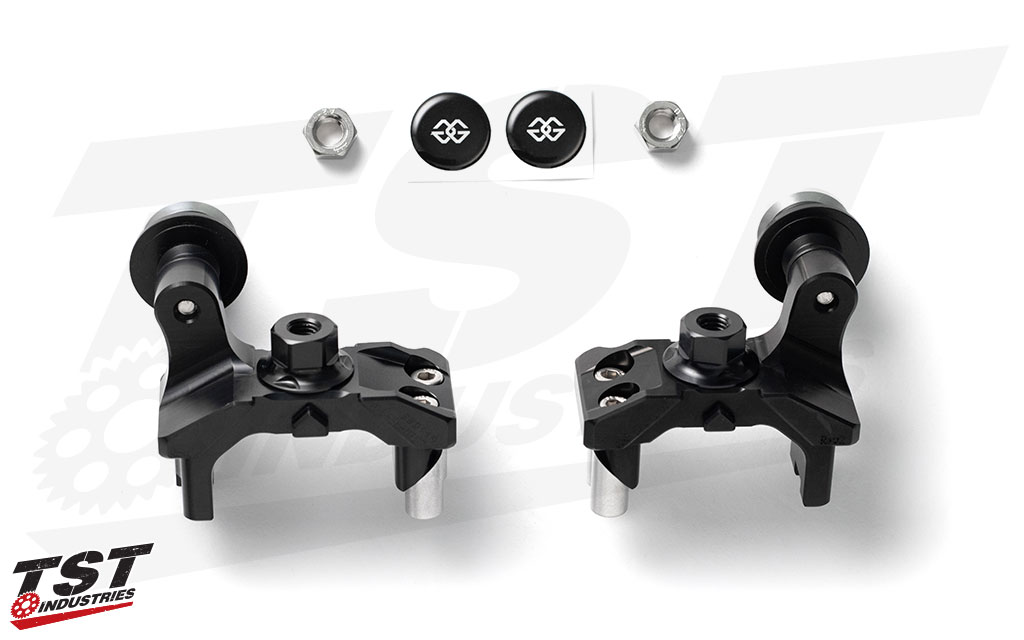 Gilles Tooling AXB Chain Adjusters for Yamaha FZ-07 / MT-07 / XSR700