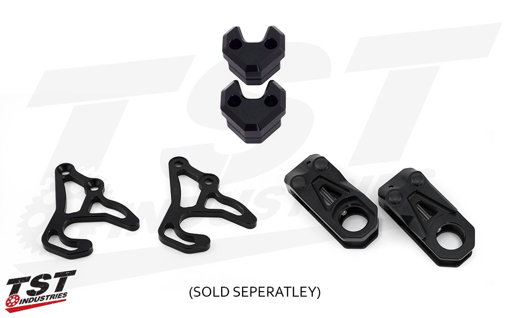 Gilles Tooling TCA Chain Adjuster, Crashpad Kit and GP Lifter, each sold separately.