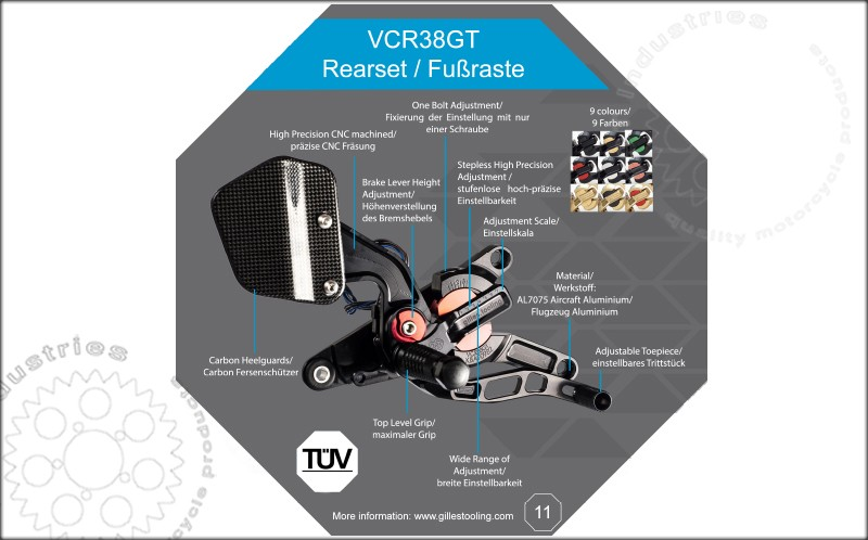VCR38GT Features