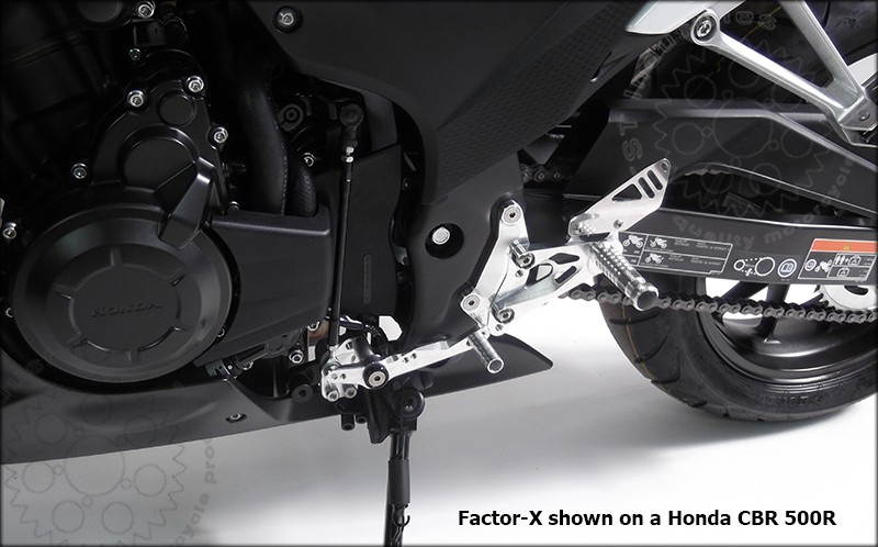 Gilles Tooling Factor-X Gilles on CBR 500R.