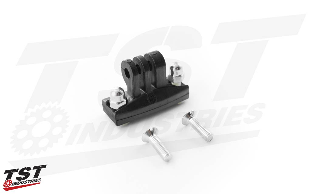 What's included in the GoPro Low Profile Screw in mounting system.