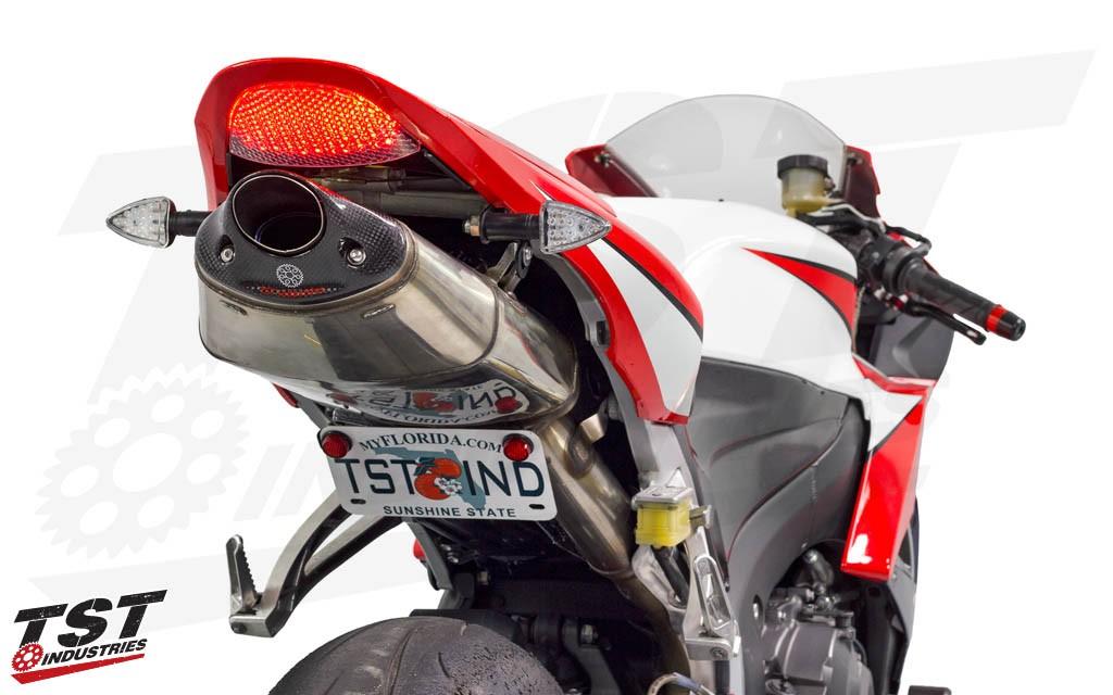 Tst Led Rear Pod Turn Signal Bundle Honda Cbr600rr 03 19 Cbr1000rr 04 07