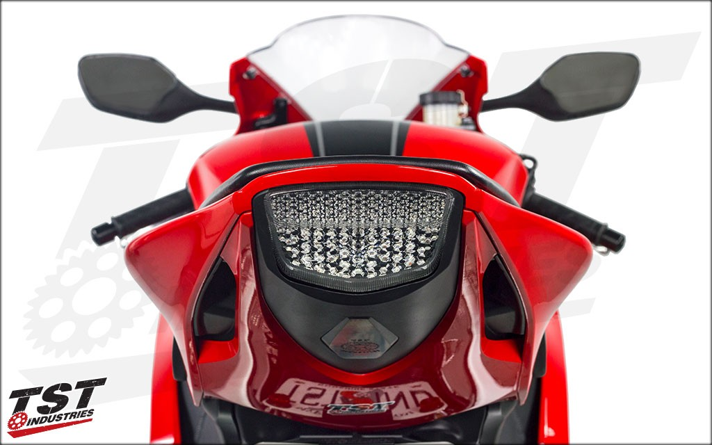 TST Industries Integrated Taillight Clear Lens.